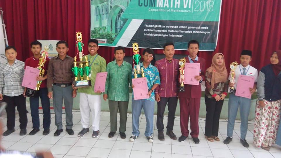 juara-3-competition-of-mathematics-commath-uin-walisongo