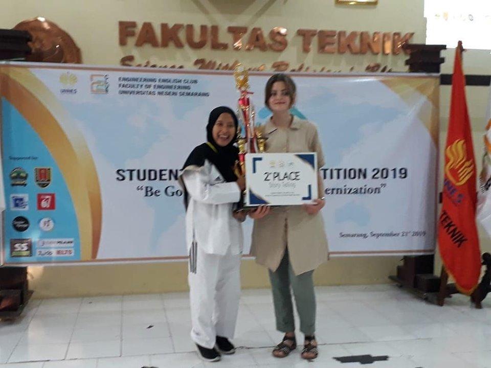 Juara 2 Lomba Story Telling Tingkat Jawa Tengah dan Daerah Istimewa Yogyakarta