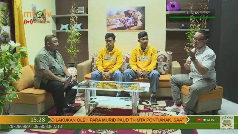 SMA MTA Surakarta Juara Palagan Open Taekwondo Championship ke 2 Tahun 2020